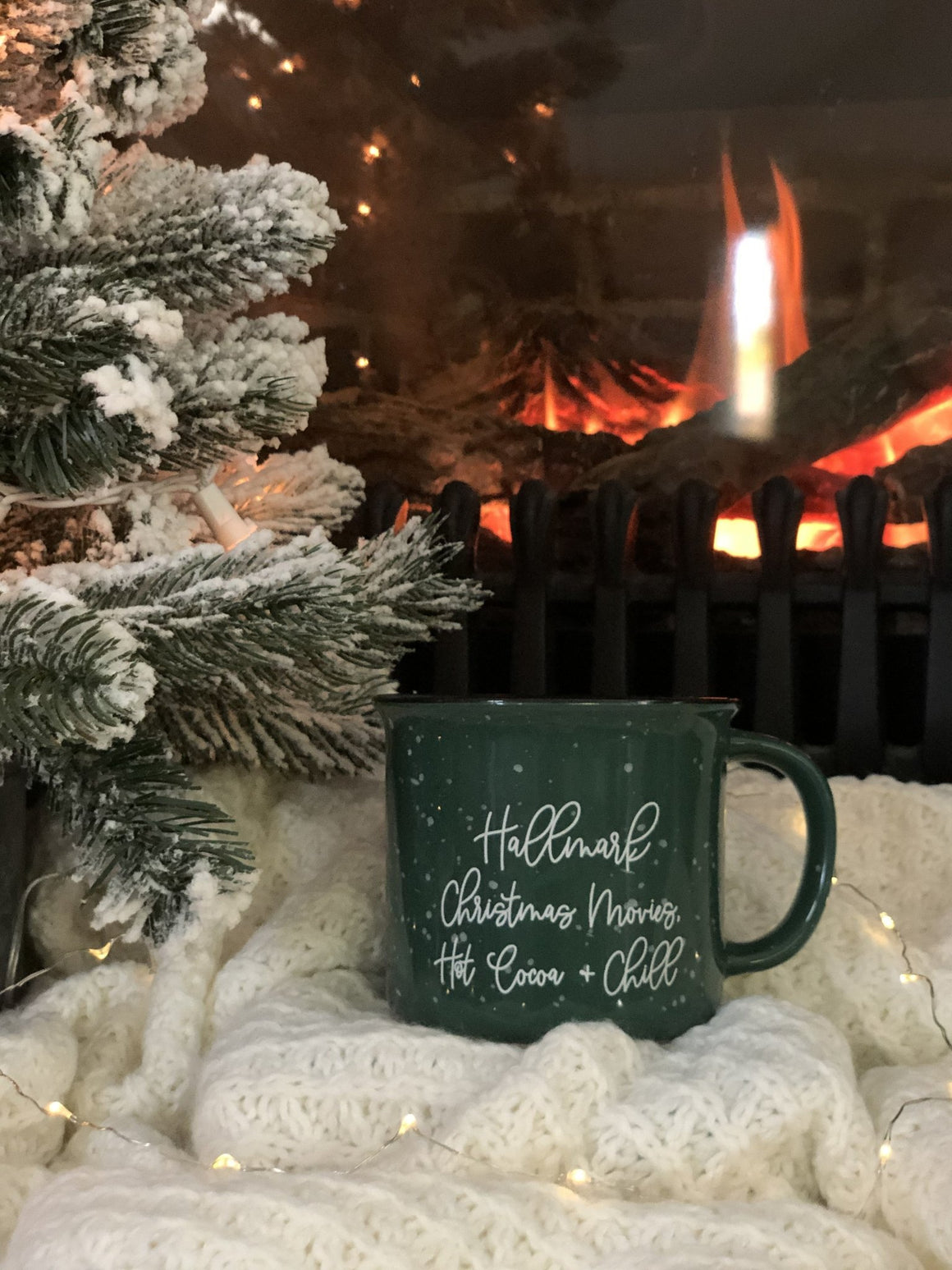 Hallmark Christmas Movies, Hot Cocoa, and Chill Campfire Mug - Pretty Collected
