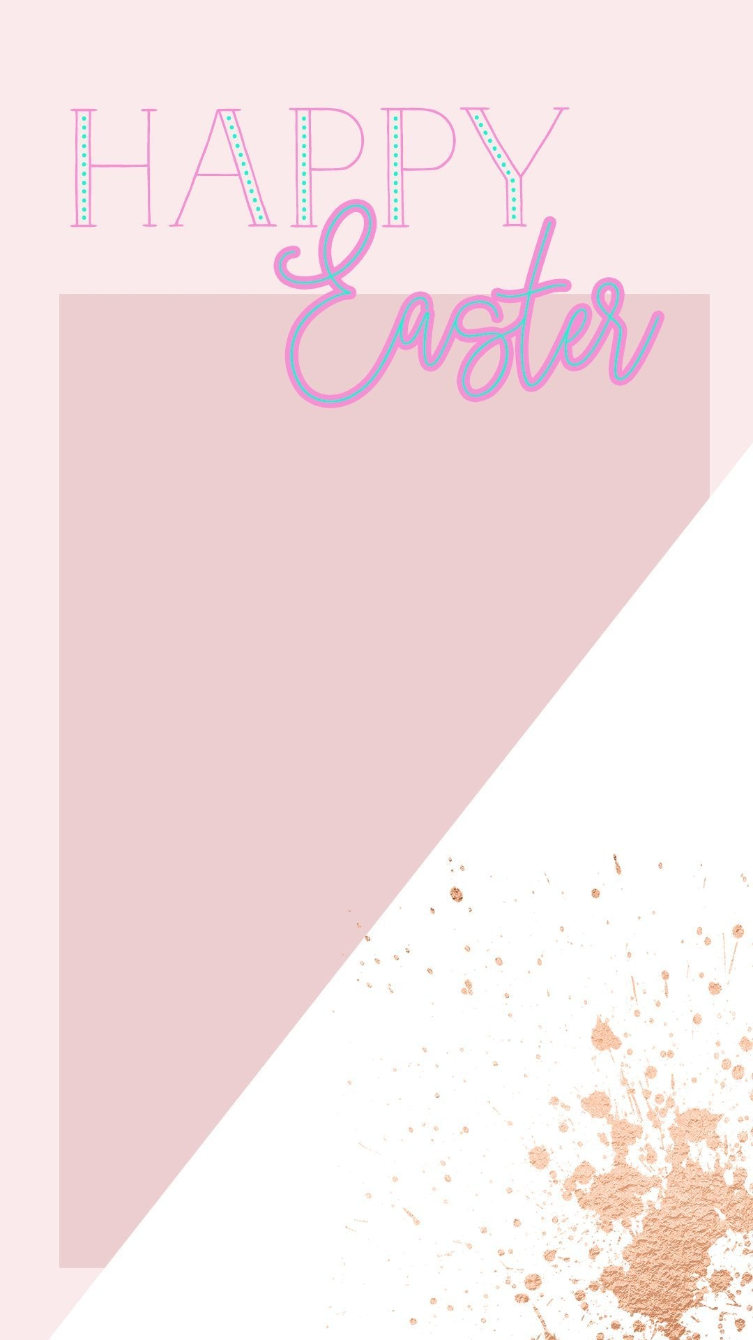 Easter Photo Template - FREE Instagram Stories Template - Pretty Collected