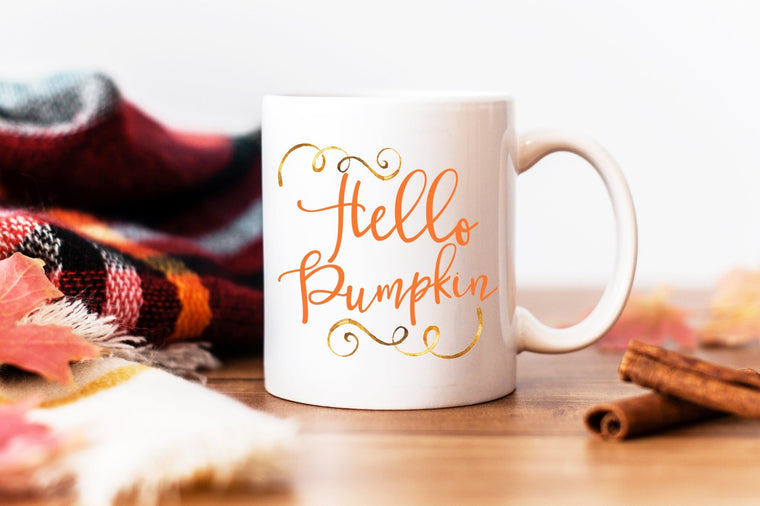 Hello Pumpkin Coffee Mug - Pretty Collected