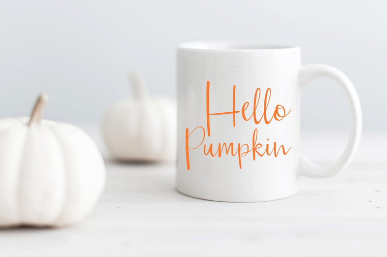 Hello Pumpkin Mug - Pretty Collected