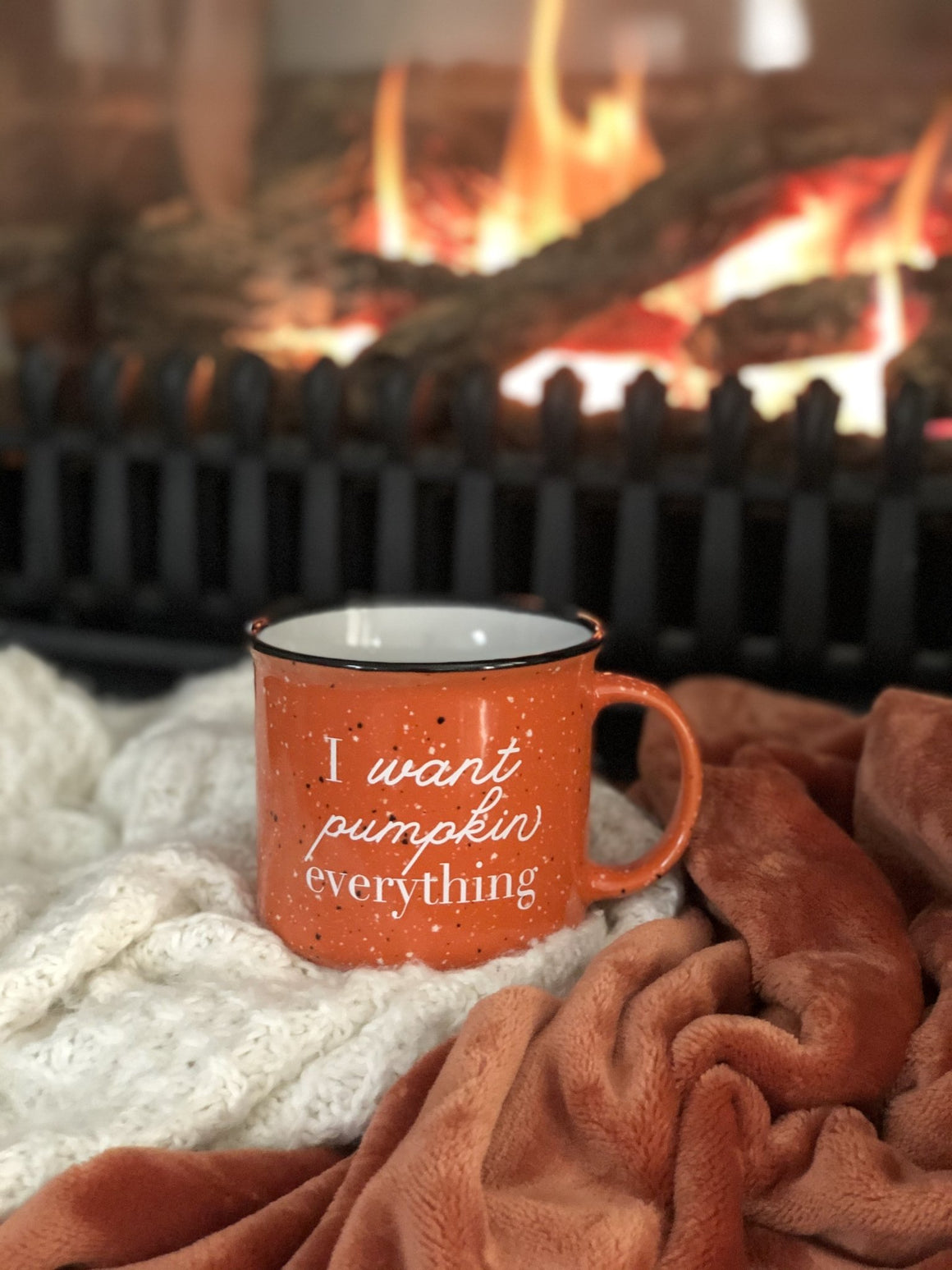 I Want Pumpkin Everything Campfire Mug - Pretty Collected