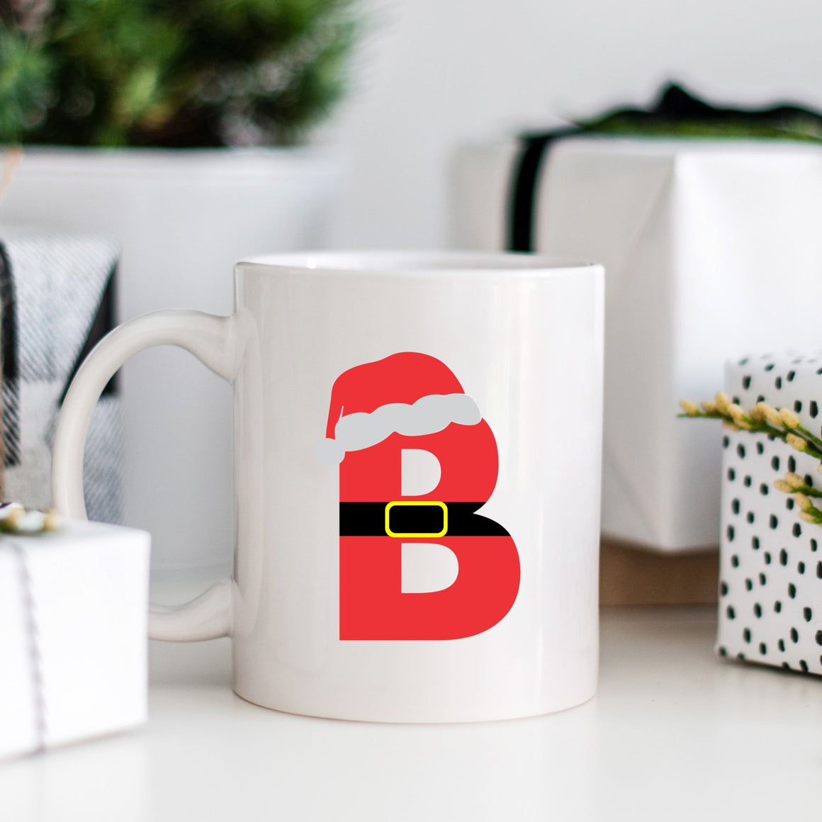Santa Monogram Campfire Mug - Pretty Collected
