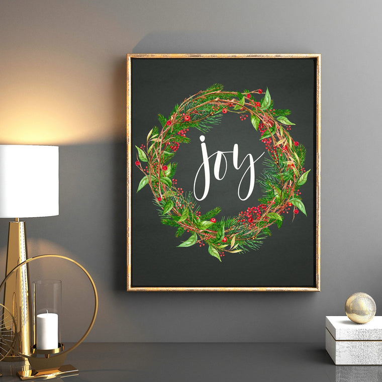 Joy Printable - Pretty Collected