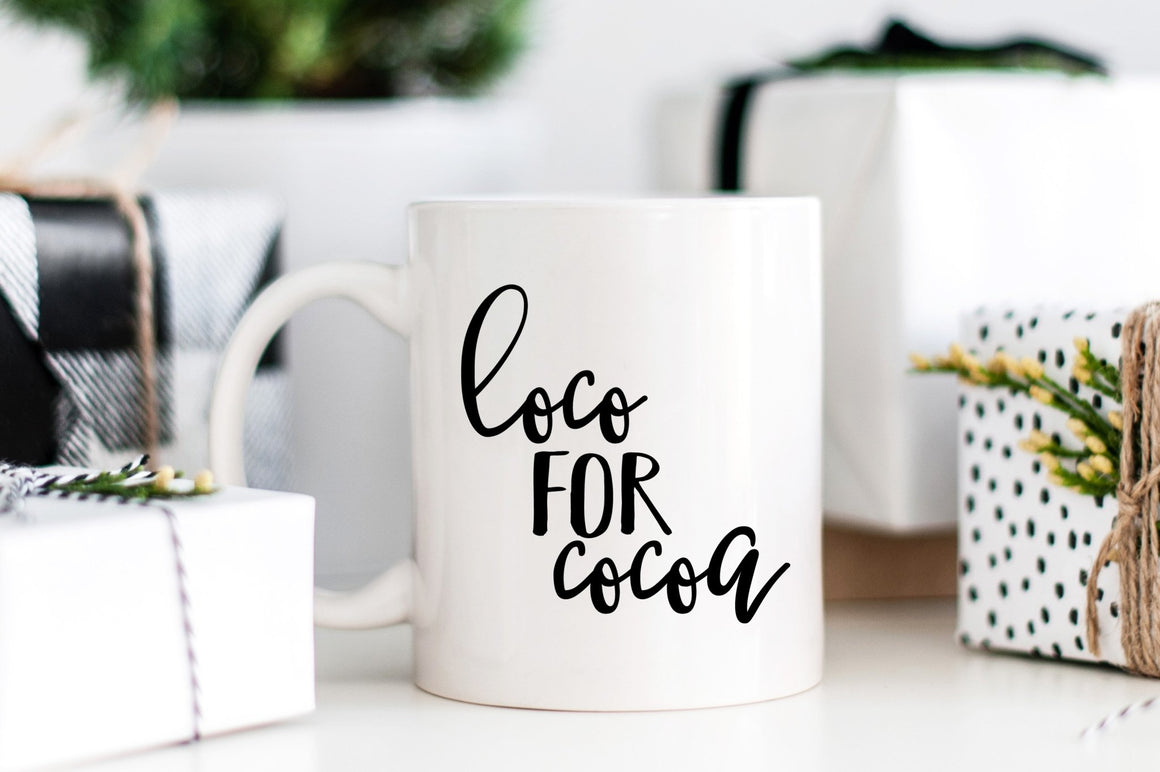 Loco for Cocoa Mug - Pretty Collected