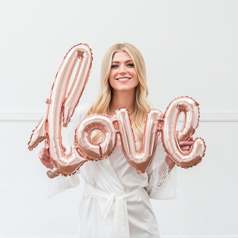 Love Foil Balloon - Pretty Collected
