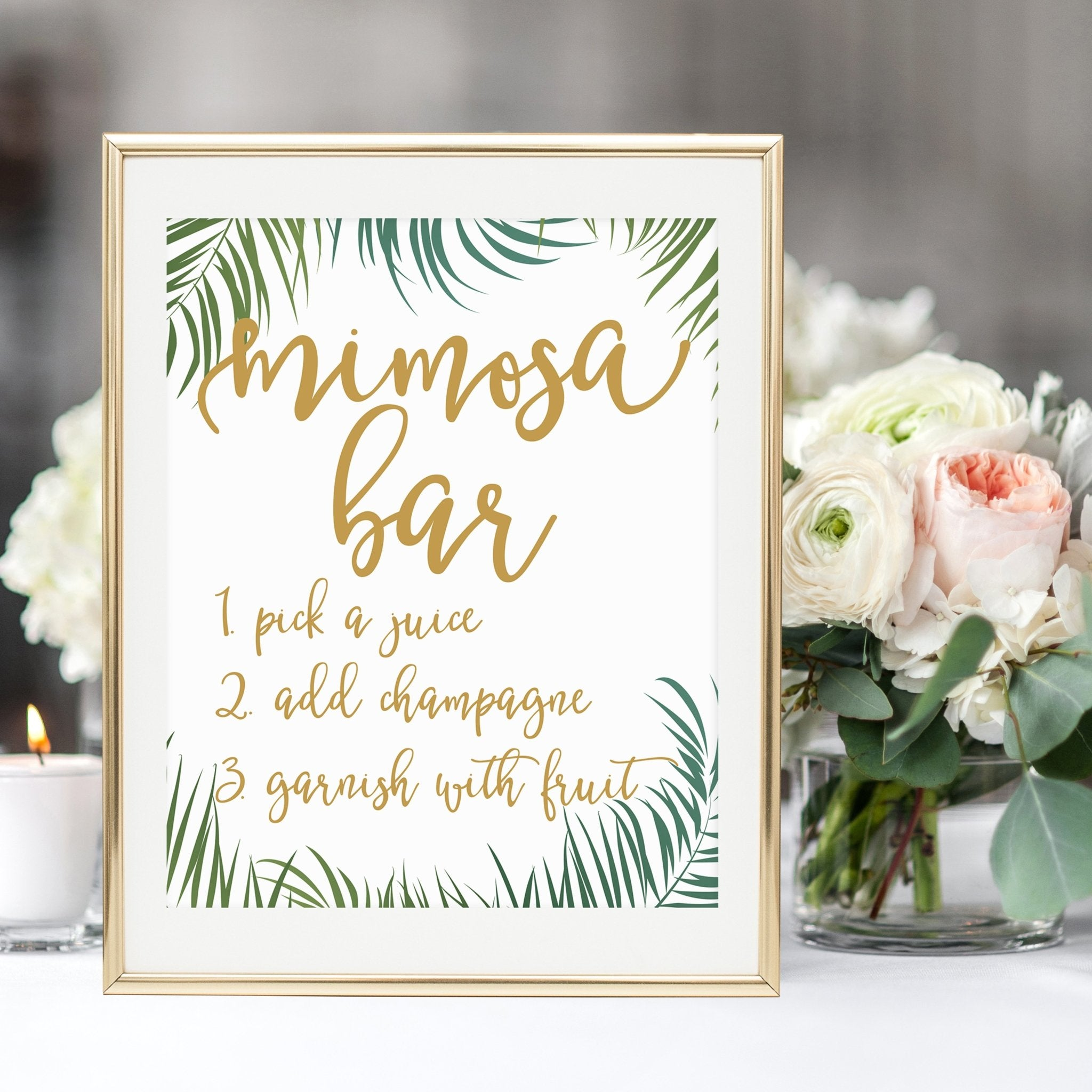 It's just an image of Mimosa Bar Sign Printable Free intended for mom osa bar