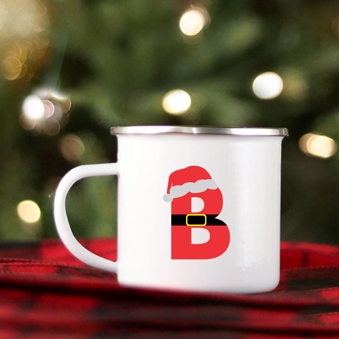 Santa Monogram Mug - Pretty Collected