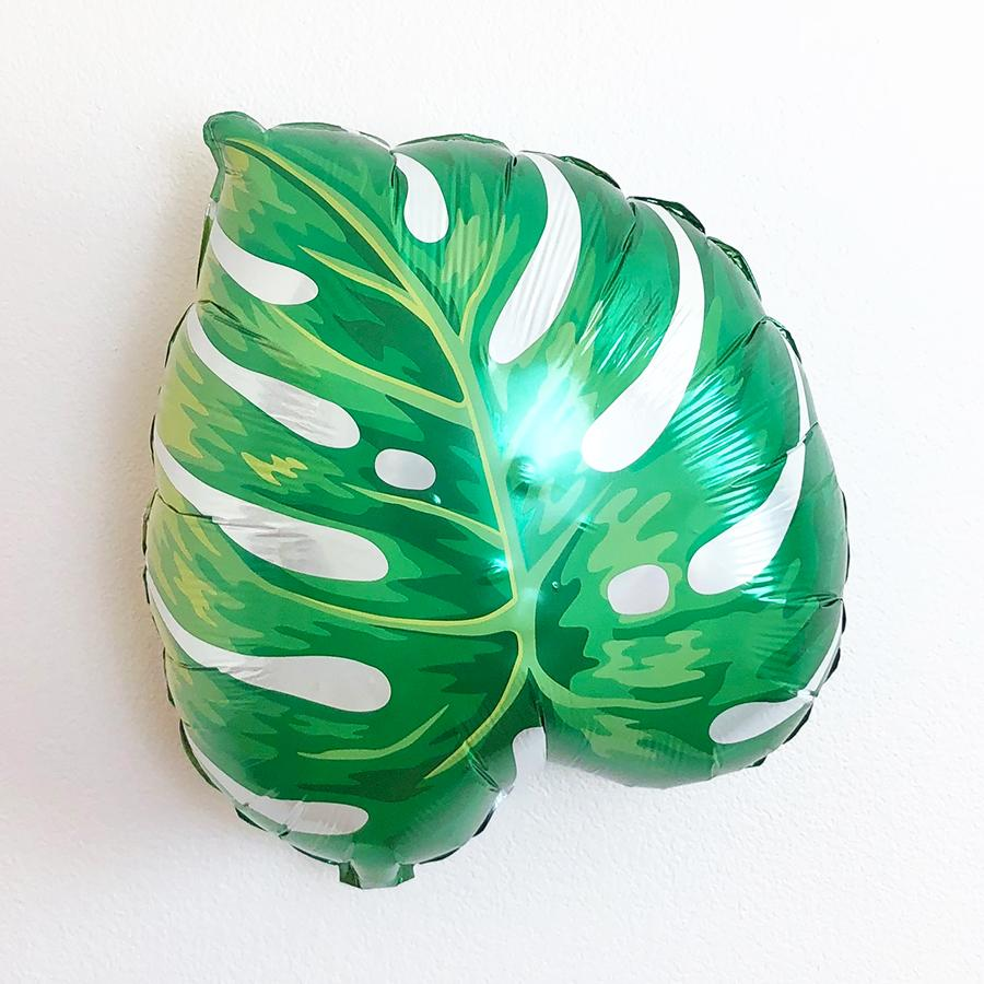 Tropical Leaf Balloon - Pretty Collected