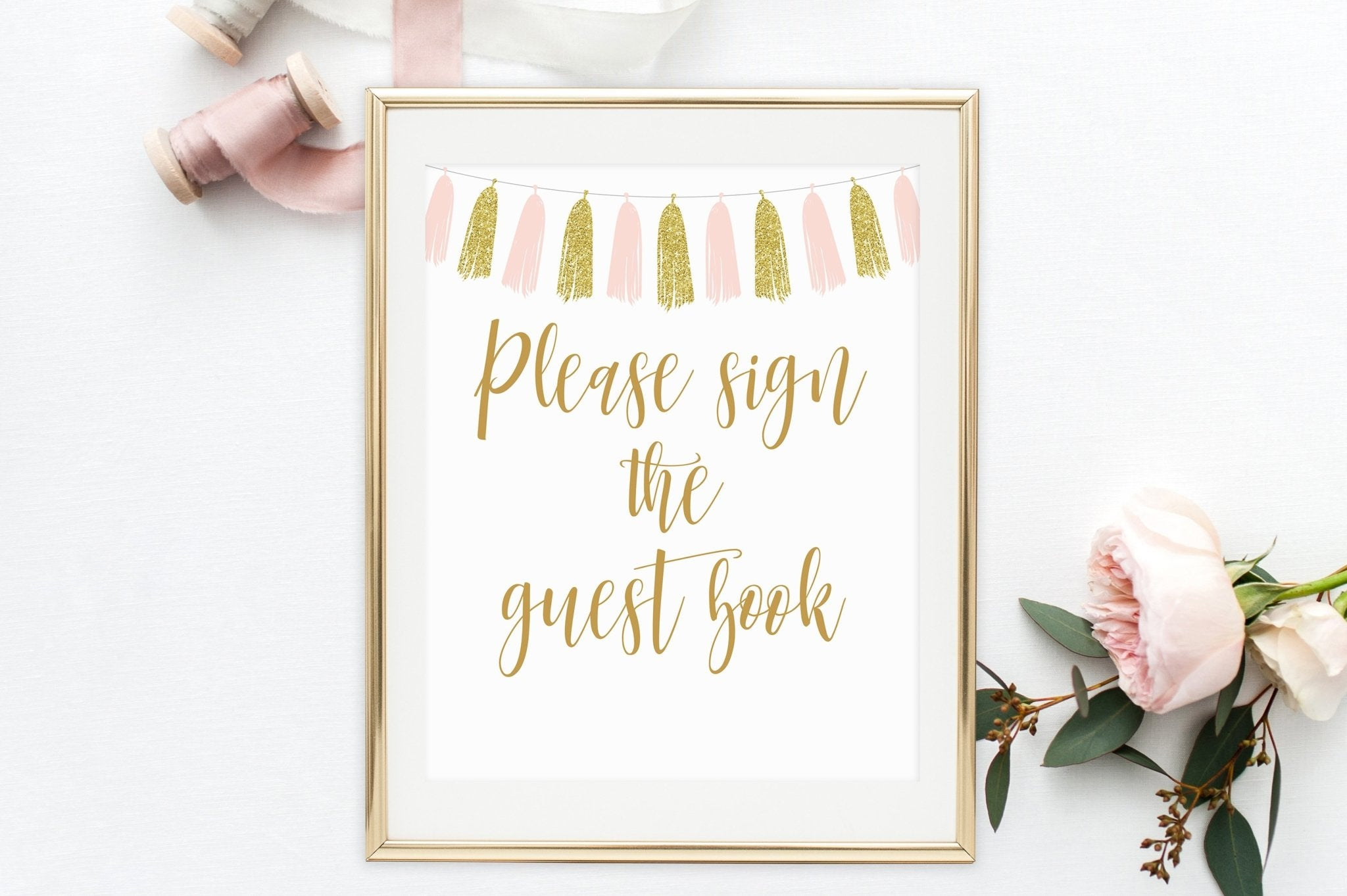 It's just a picture of Please Sign Our Guestbook Free Printable regarding template