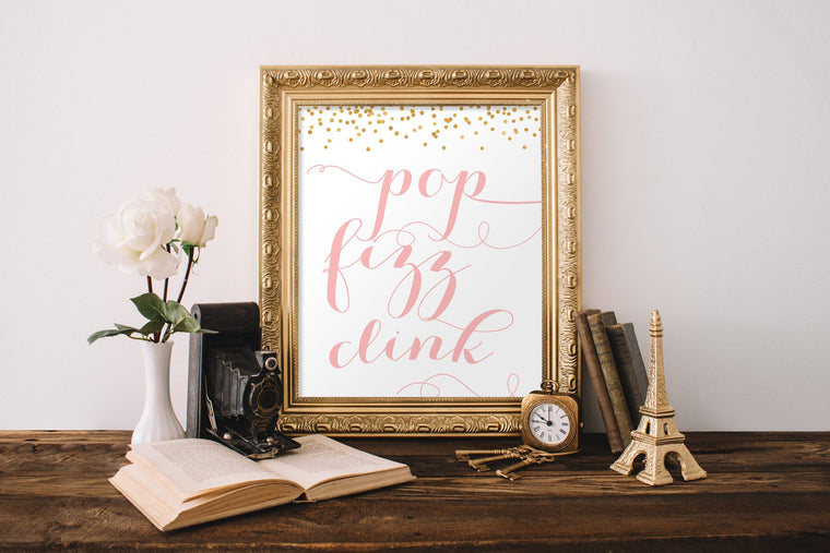 Pop Fizz Clink Printable - Pretty Collected