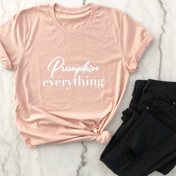 Pumpkin Everything Shirt - Fall Shirts - Fall Outfits - Pretty Collected