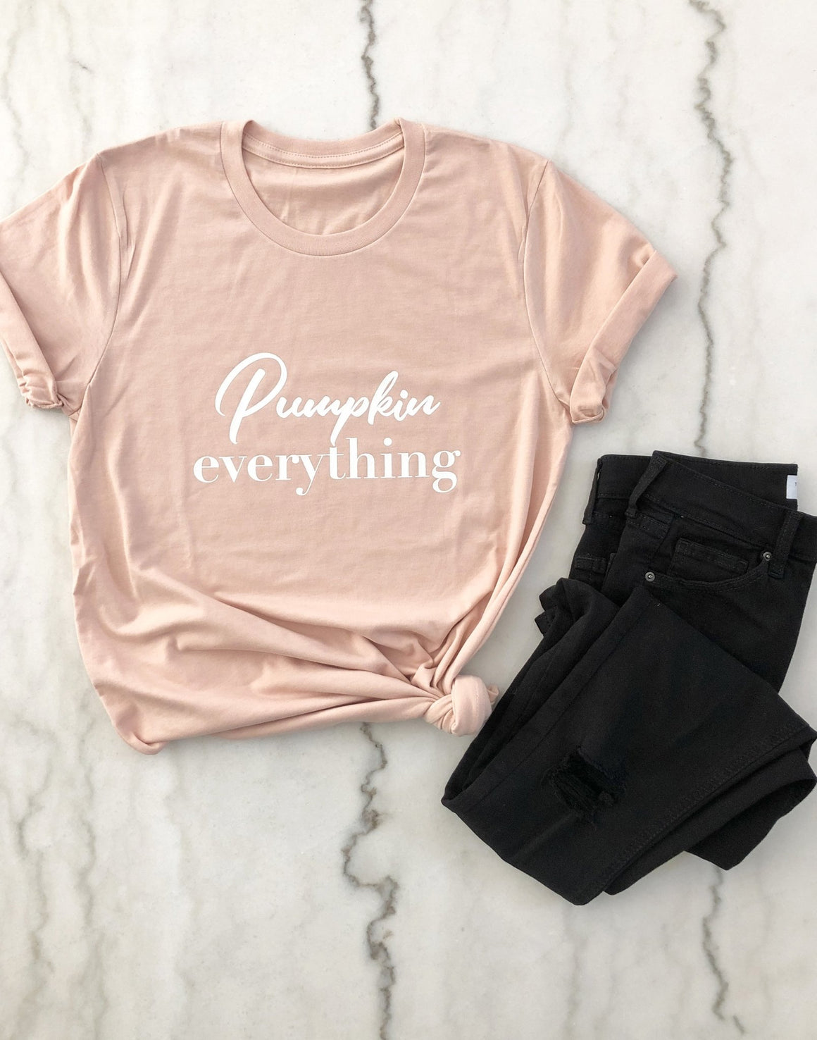 Pumpkin Everything Tee - Pretty Collected