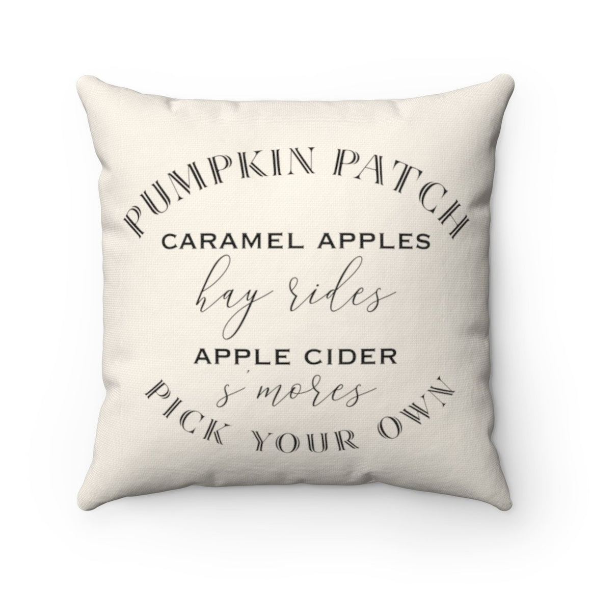 Pumpkin Patch Pillow - Pretty Collected
