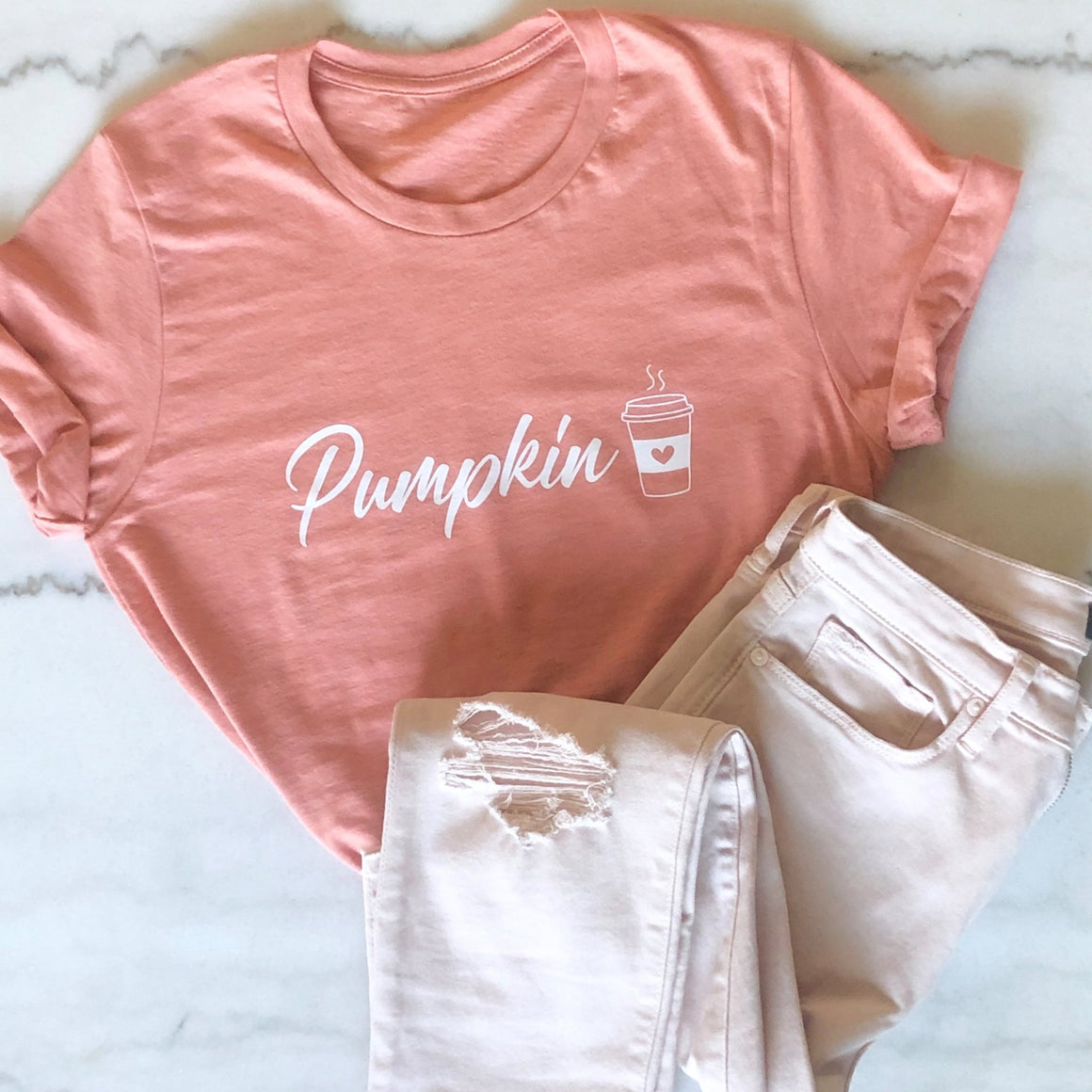 Pumpkin Spice Tees - Pretty Collected