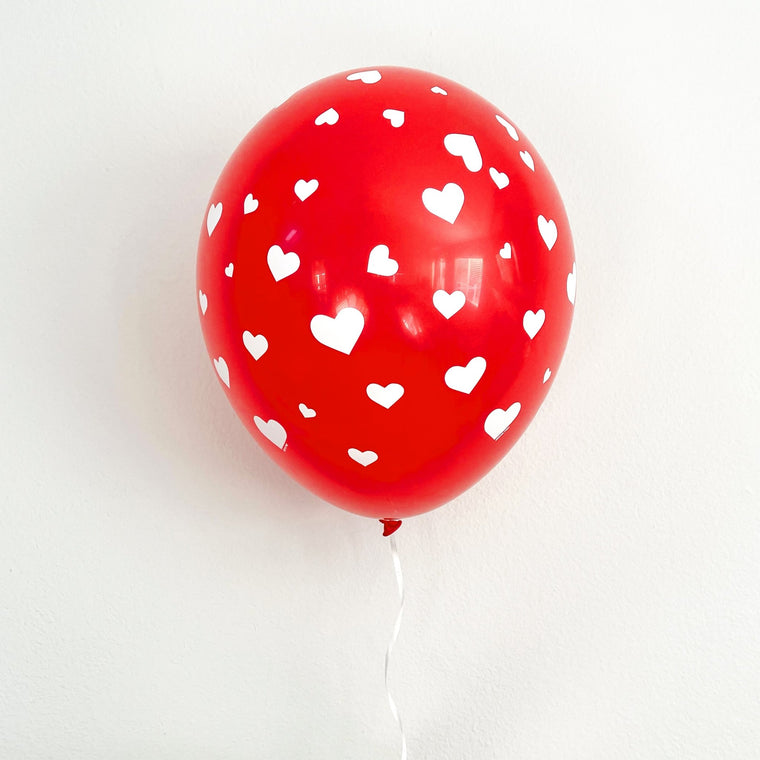 Red Heart Latex Balloon - Pretty Collected