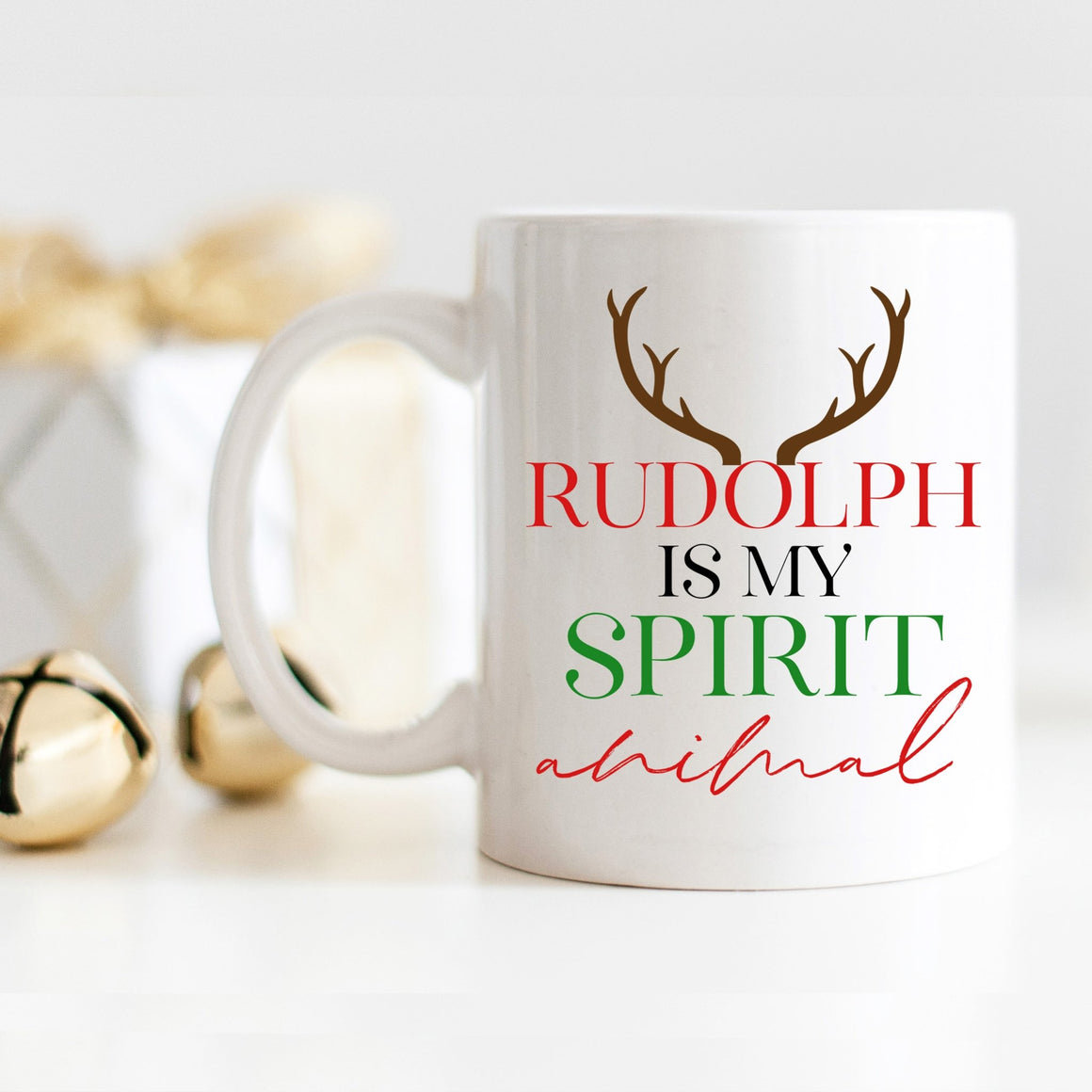 Rudolph is my Spirit Animal Mug - Pretty Collected