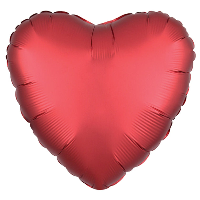 Sangria Red Heart Balloon - Pretty Collected