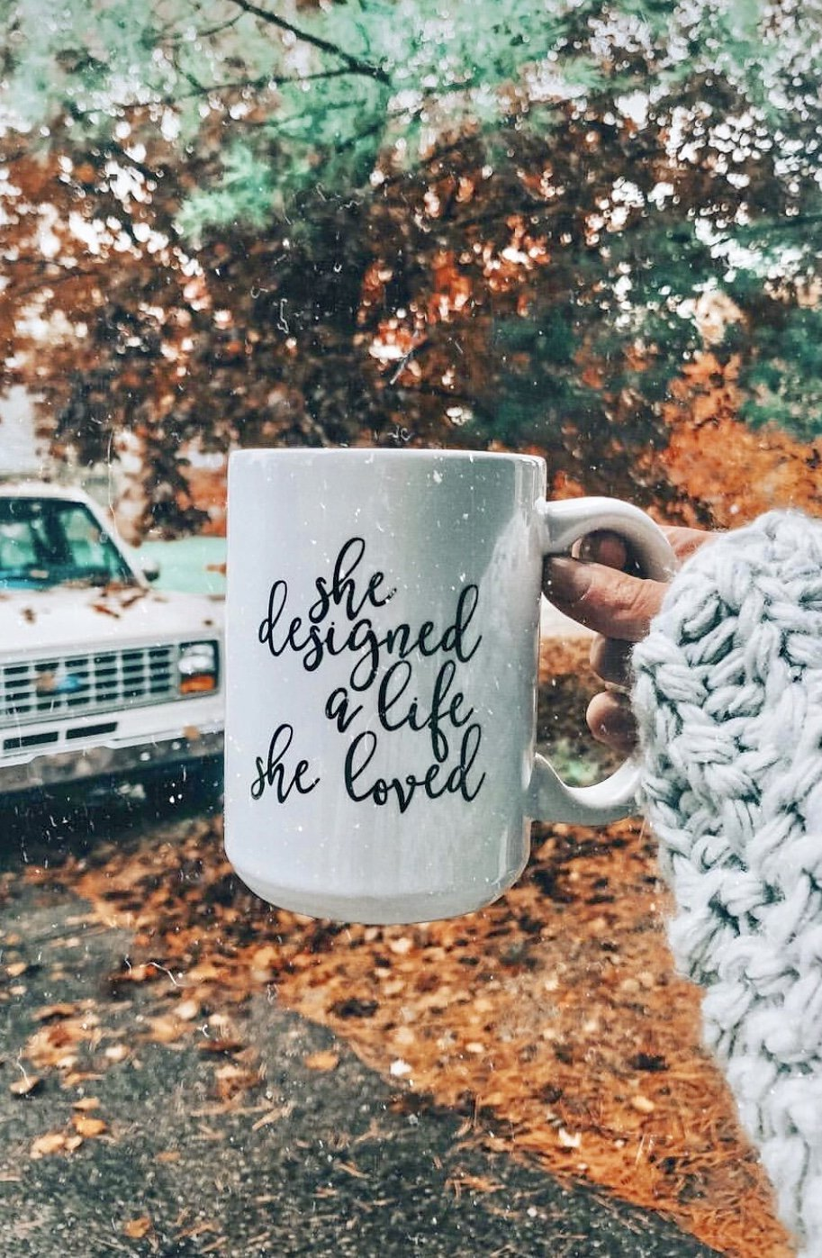 She Designed a Life She Loved Mug - Pretty Collected