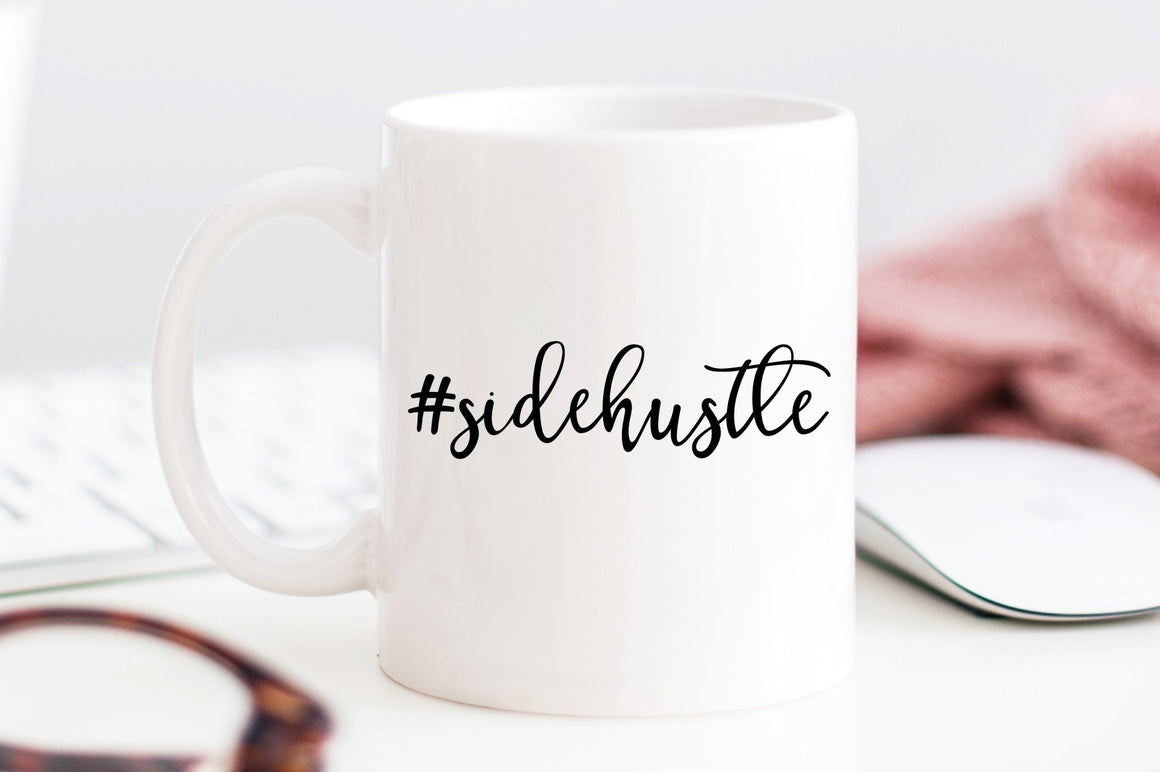 #SideHustle Mug - Pretty Collected
