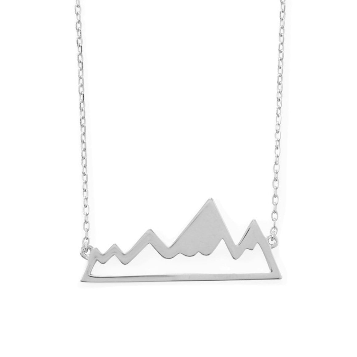 Explore the Mountains Necklace - Pretty Collected