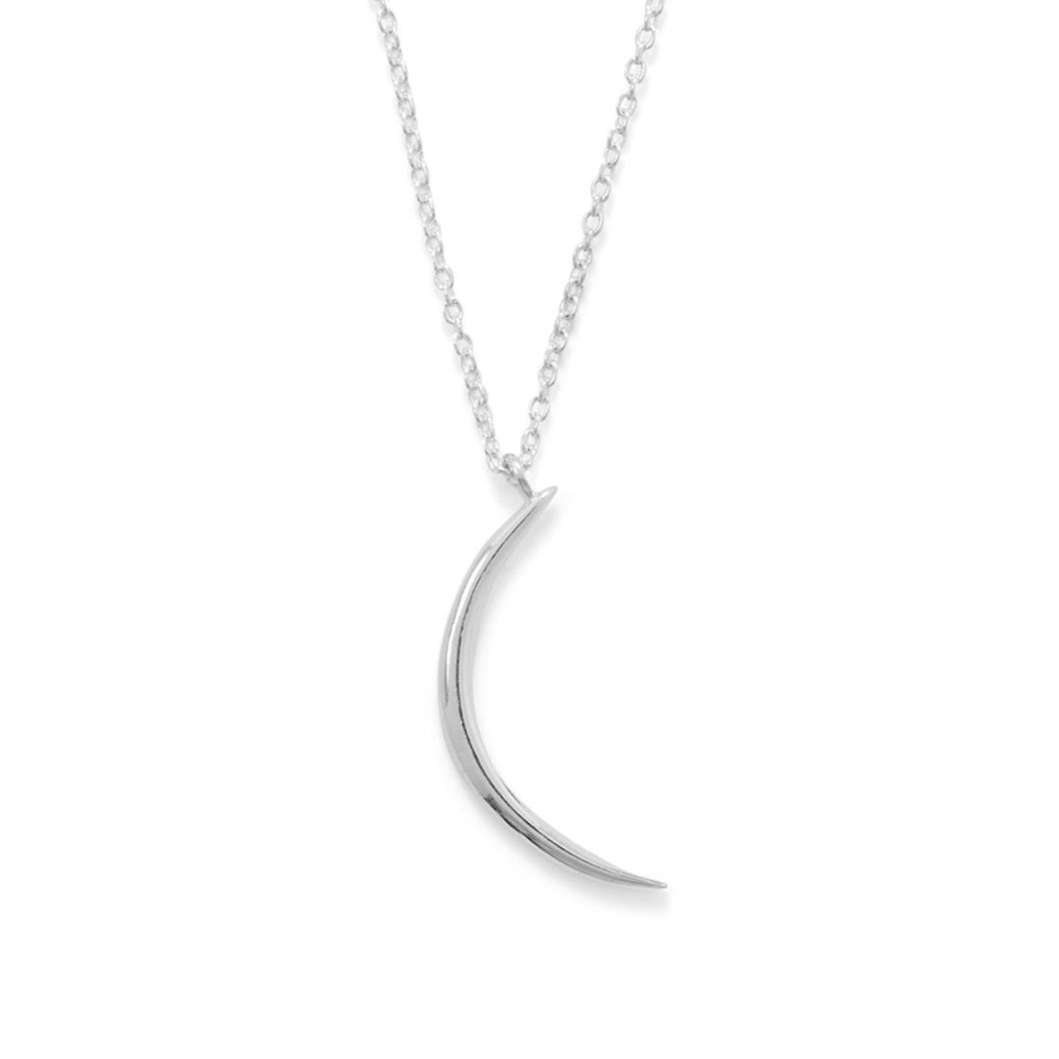 Sliver of a Moon Necklace - Pretty Collected