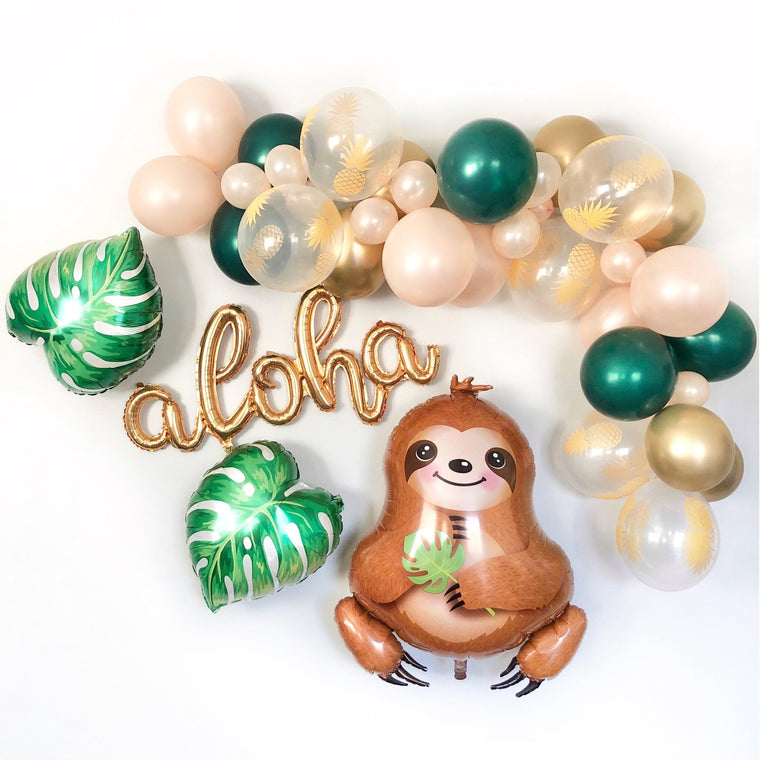 Baby Sloth Balloon Garland Kit - Pretty Collected