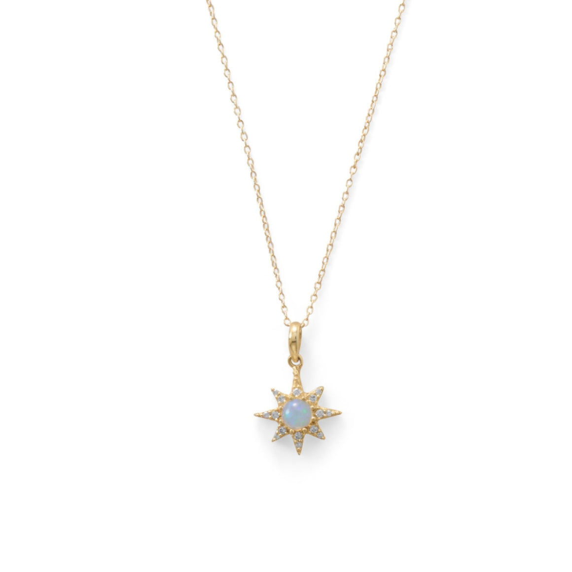 Sparkling Starburst Necklace - Pretty Collected