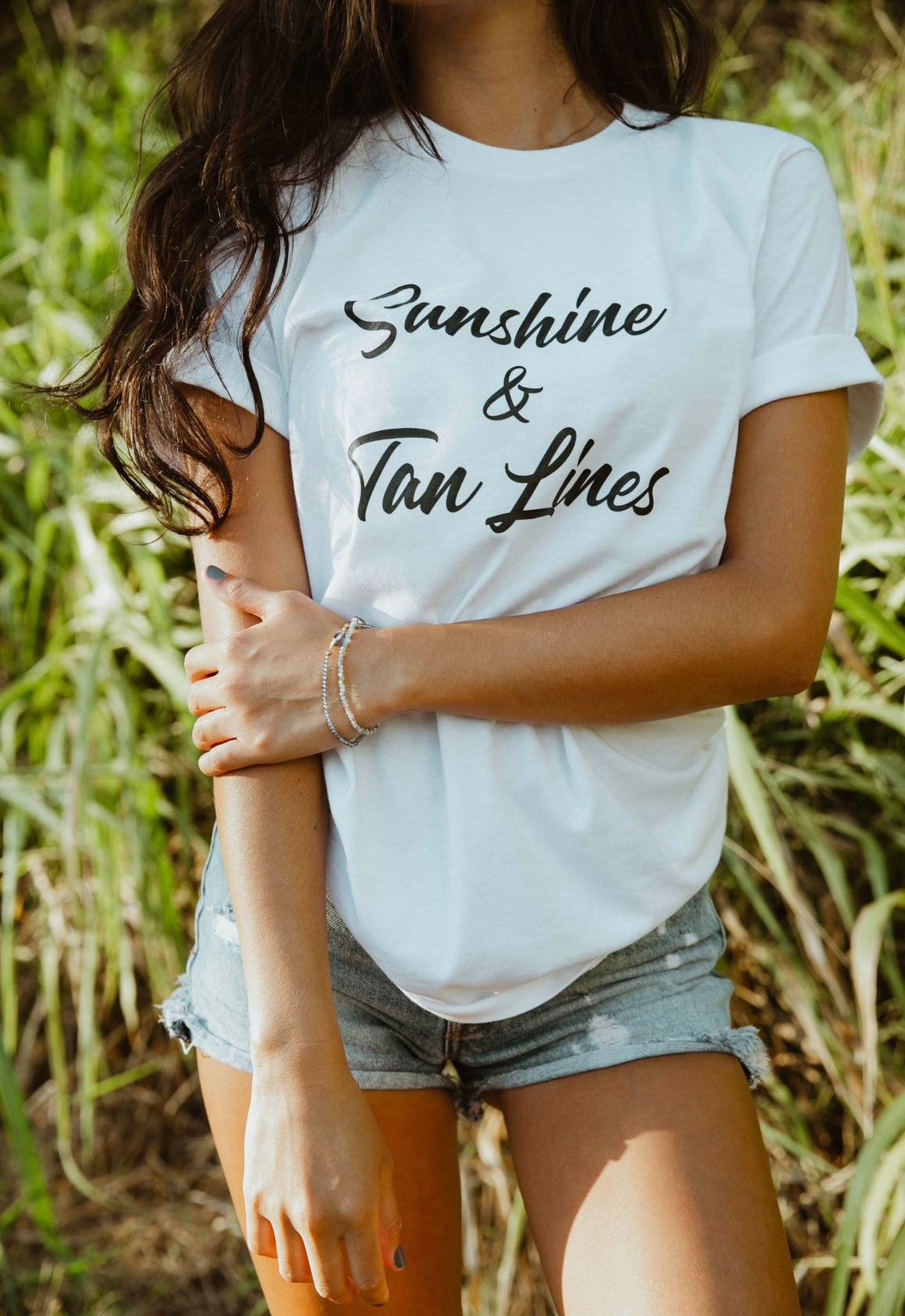 Sunshine & Tan Lines Tee - Pretty Collected