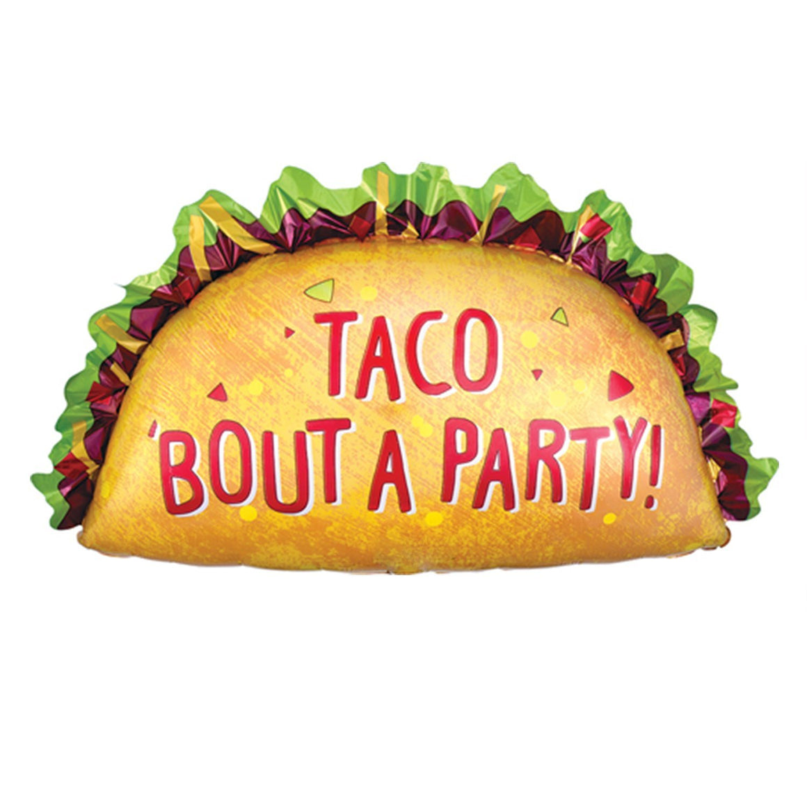 Taco Bout a Party Balloon - Pretty Collected