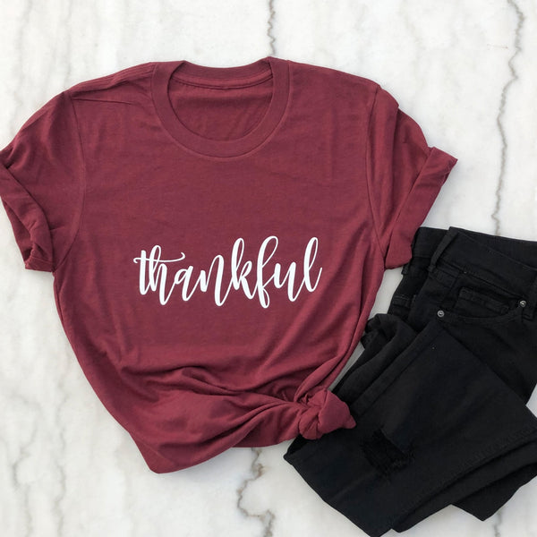 Thankful Shirt - Fall Shirts - Fall Outfits - Pretty Collected