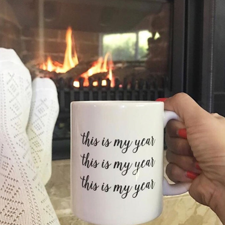 2019 This is My Year Mug - Pretty Collected