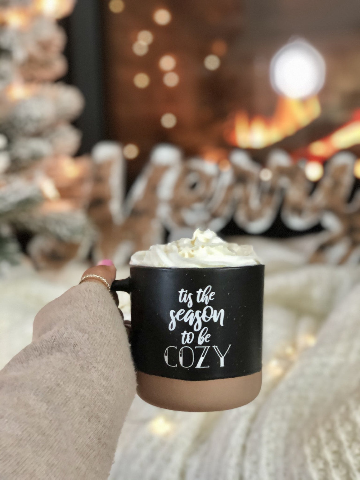 Tis the Season to Be Cozy Mug - Pretty Collected