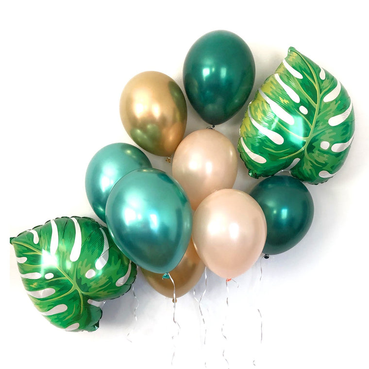 Golden Tropical Balloon Set - Pretty Collected