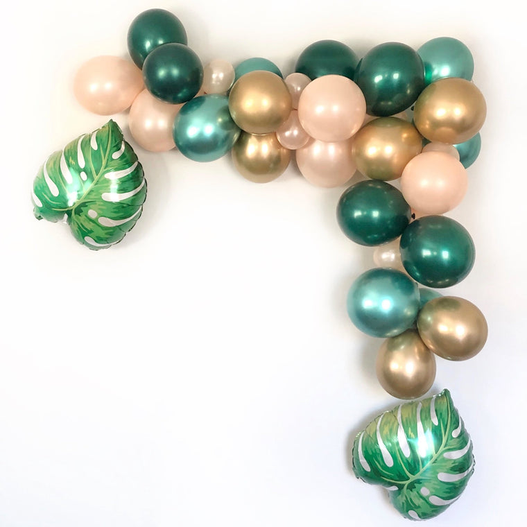 Tropical Leaves Balloon Garland Kit - Pretty Collected
