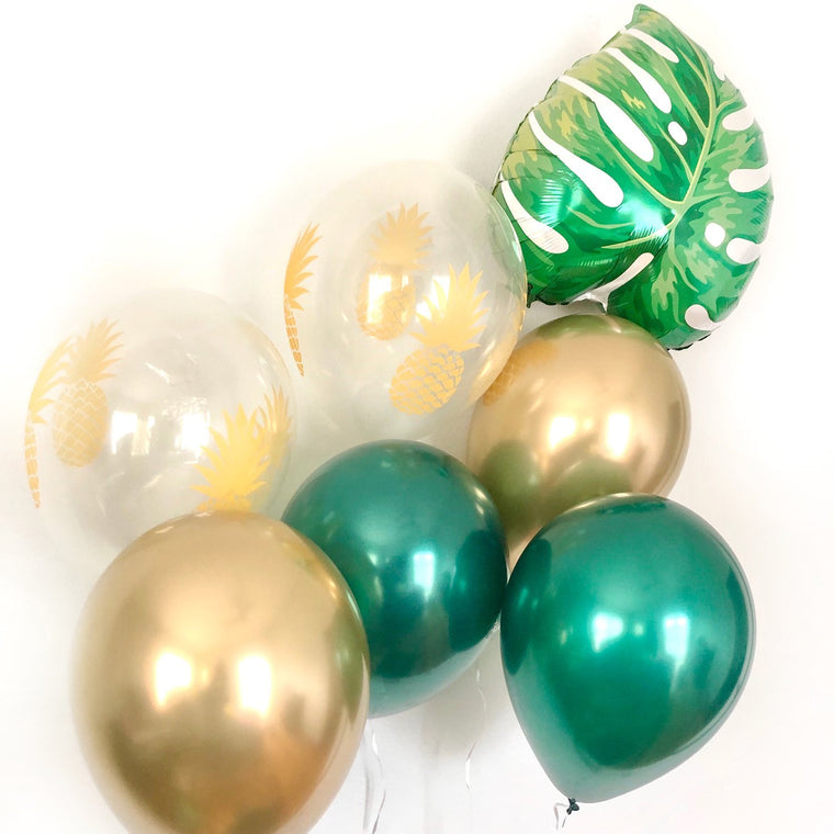 Tropical Leaf Balloon Set - Pretty Collected