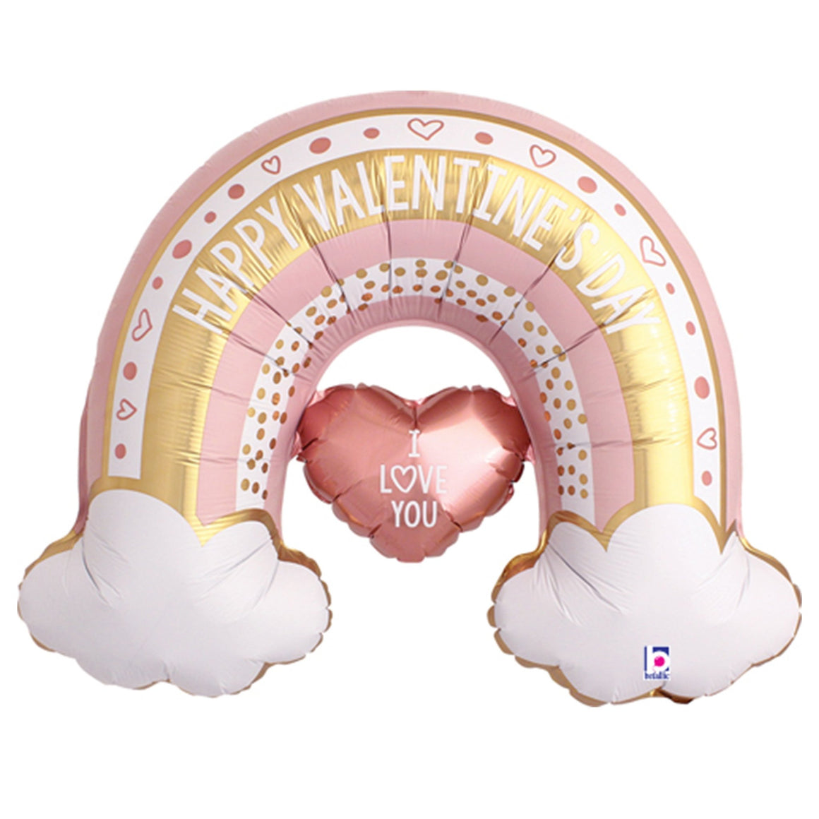 Galentine's Day Rainbow Balloon - Pretty Collected