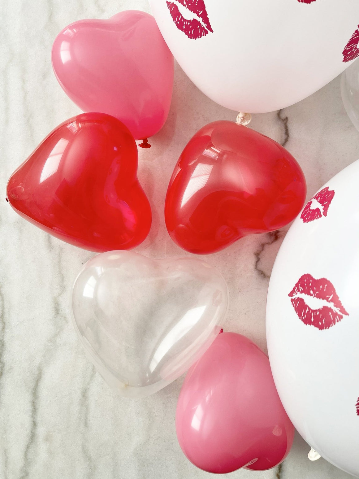 Set of Mini Heart Latex Balloons - Pretty Collected