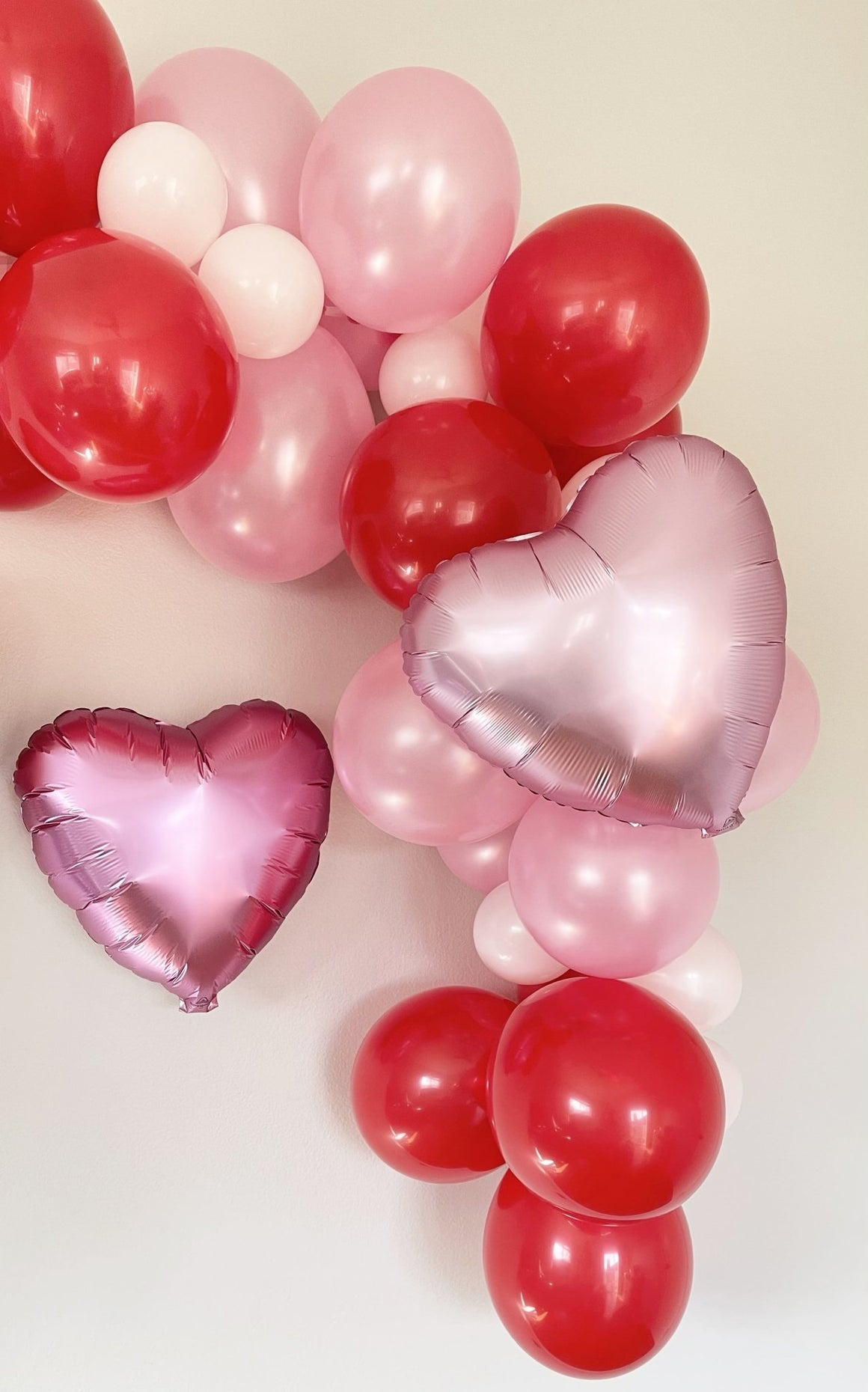 Pastel Pink Heart Balloon - Pretty Collected