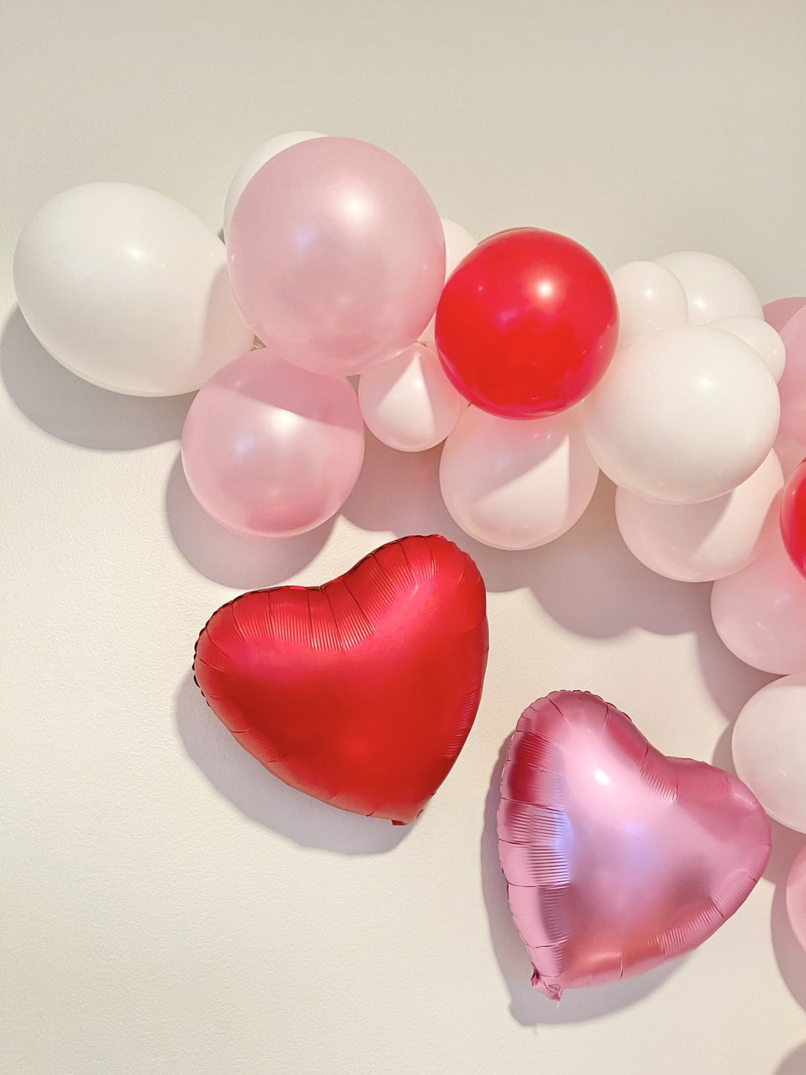 Flamingo Pink Heart Balloon - Pretty Collected