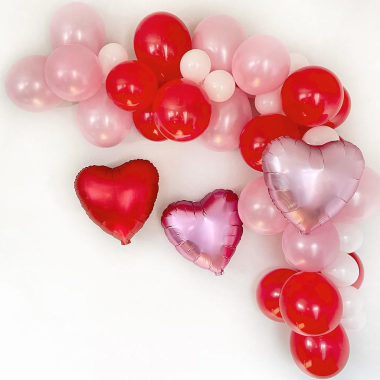 Valentine's Day Balloon Garland Kit - Pretty Collected