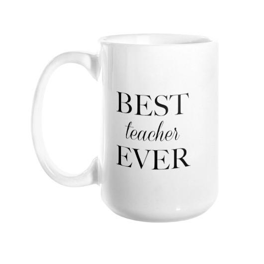 Best Teacher Ever Mug - Pretty Collected