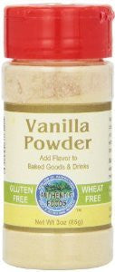 Authentic Foods Vanilla Powder - 3 Oz
