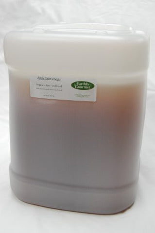 Raw Organic Apple Cider Vinegar - 2.5 Gallons