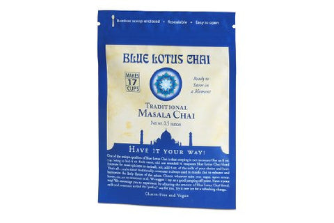Blue Lotus Traditional Masala Chai - .5oz Package (17 cups)