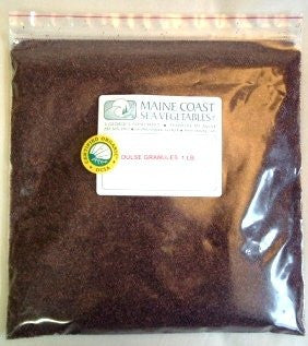 Organic Raw Dulse Granules - 1 Lb
