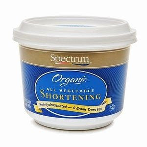 Spectrum Naturals Organic Palm Shortening - 33 Lb box
