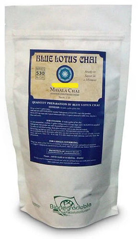 Blue Lotus Traditional Masala Chai - Bulk 1 Lb Bag (530 Cups)