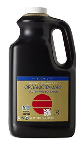 San-J Organic Tamari Gold Label - 64 Oz.