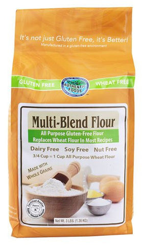 Authentic Foods Multi Blend Flour, 3 Lb