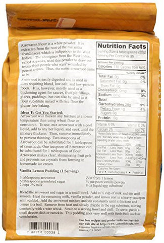 Authentic Foods Arrowroot Flour - 2.5 lb